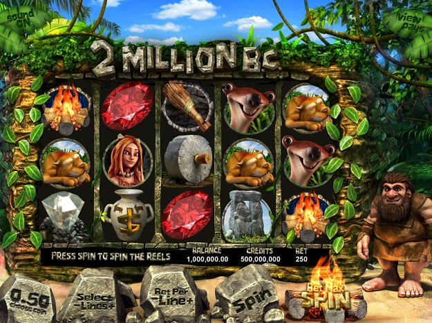 2 Million B.C. Slot Machine - Casino Game Powered by Betsoft