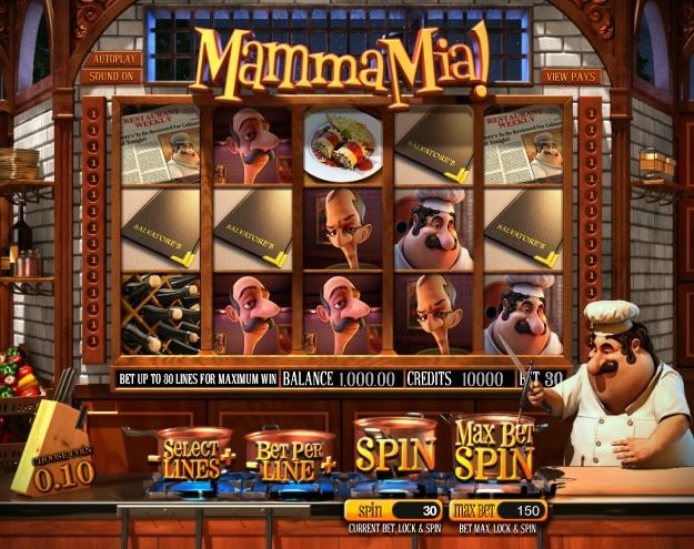 Mamma Mia™ Slot Machine Game to Play Free in BetSofts Online Casinos