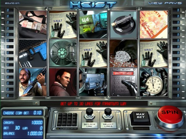 Heist Slots Free Play & Real Money Casinos