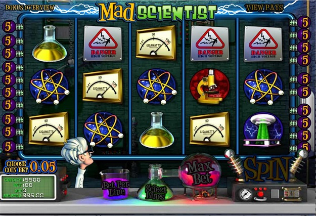 Mad Scientist Slots Free Play & Real Money Casinos