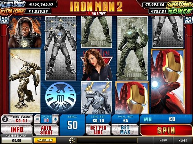 слот iron man 2