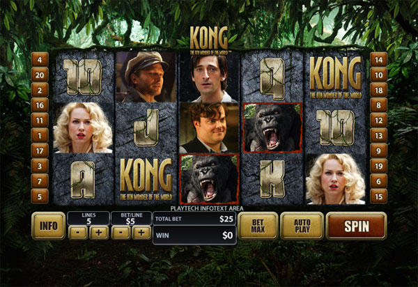 casino slot king kong