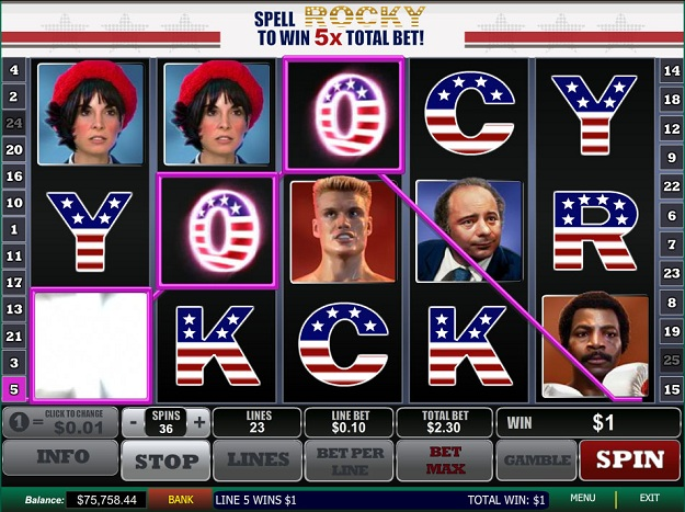 Rocky Slot Machine Online - Play the Free Demo Game Now