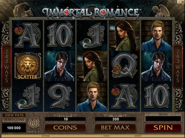Immortal Romance Online Slot for Real Money - Rizk Casino