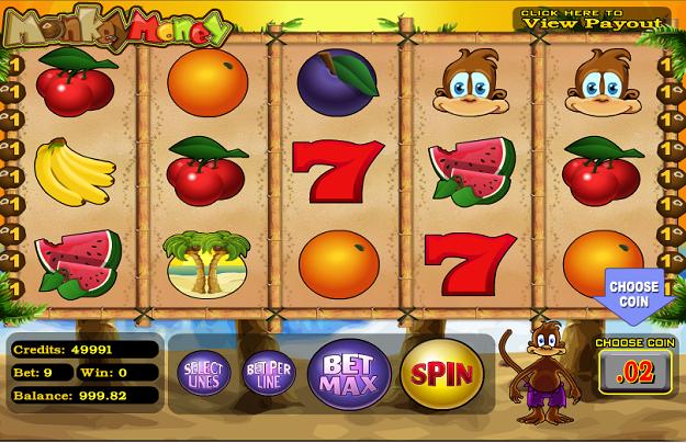Monkey Money Slots - Monkey Money Slots from BetSoft - play for free
