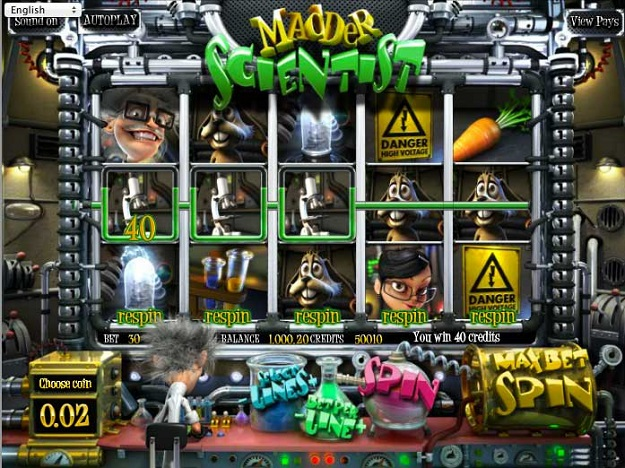 Madder Scientist Online Slots for Real Money - Rizk Casino