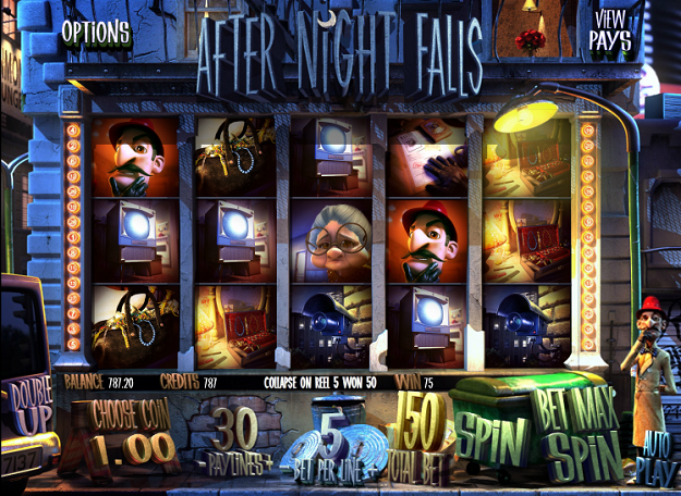 After Night Falls™ Slot Machine Game to Play Free in BetSofts Online Casinos