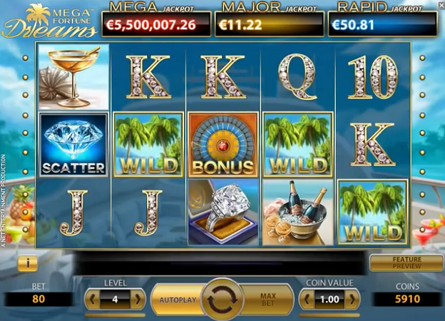 online slots that pay real money mega fortune