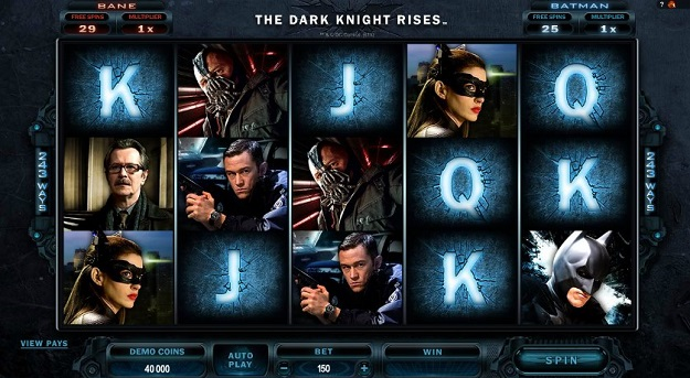 The Dark Knight Trilogy Slots - Find Out Where to Play Online
