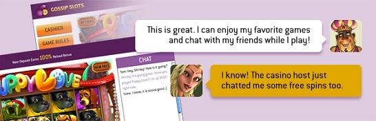 Gossip Slots Chat