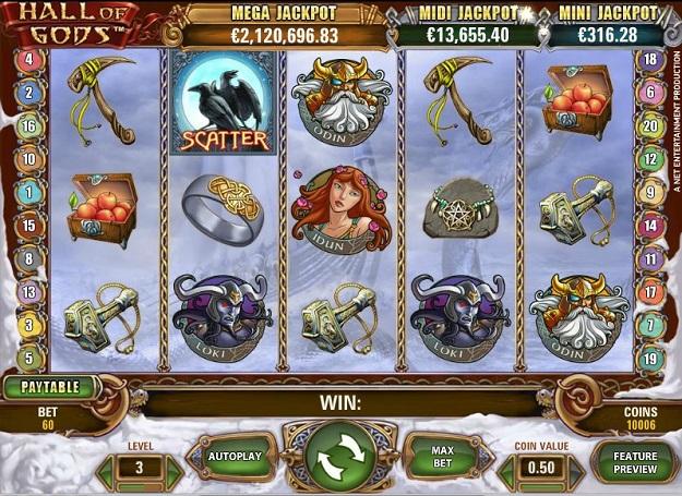 Hall of Gods Slot Machine Online ᐈ NetEnt™ Casino Slots