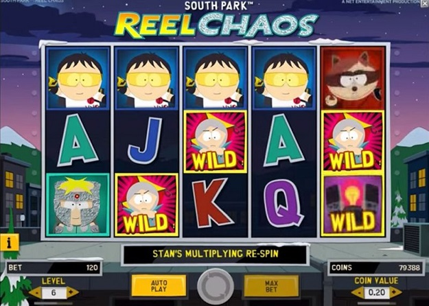 South Park Reel Chaos™ Slot Machine Game to Play Free in NetEnts Online Casinos