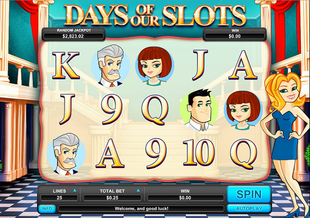 Days of our Slots Slot Machine - Try for Free Online