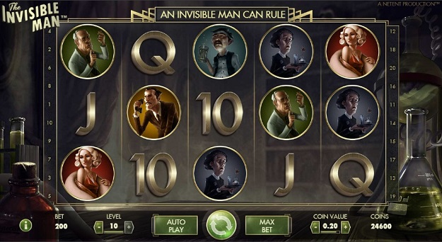 The Invisible Man Slot Machine Online ᐈ NetEnt™ Casino Slots