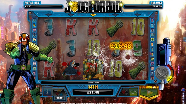 Judge Dredd Slot Machine Online ᐈ NextGen Gaming™ Casino Slots