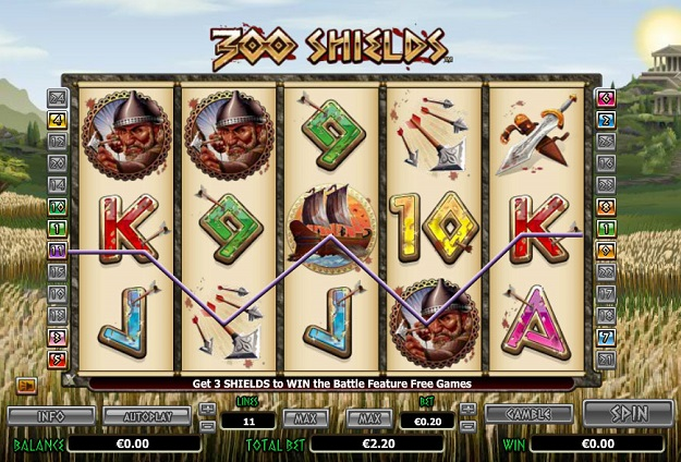 300 Shields Slot Machine Online ᐈ NextGen Gaming™ Casino Slots