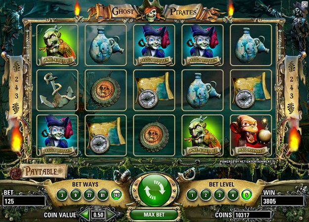 Ghost Pirates NetEnt Online Slot for Real Money - Rizk Casino