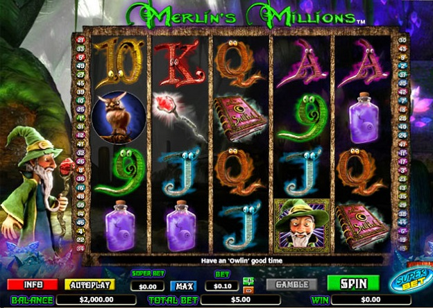 Merlins Millions Superbet Slot Machine Online ᐈ NextGen Gaming™ Casino Slots