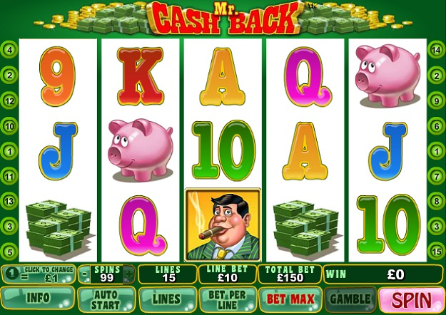online slots for real money cashback scene