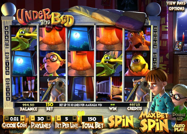 Under the Bed Slot Machine Online ᐈ BetSoft™ Casino Slots