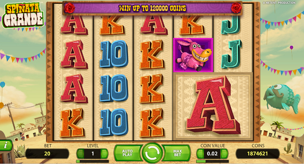 Spinata Grande NetEnt Online Slots for Real Money-Rizk Casino