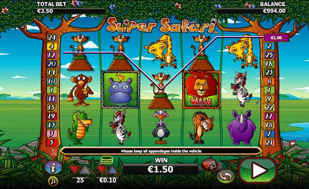 Super Safari Slot Machine Online ᐈ NextGen Gaming™ Casino Slots