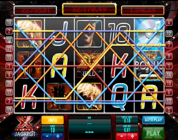 Free X Factor Scratch Card Game and Real Money Casino Play