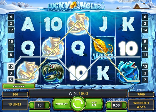 Lucky angler slot game standard vegas roulette wheel